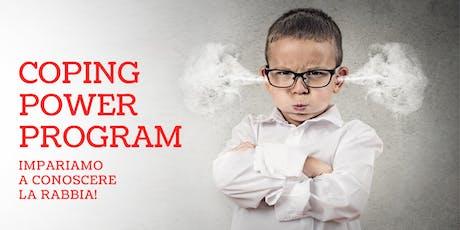 COPING POWER PROGRAM - Impariamo a conoscere la rabbia! biglietti