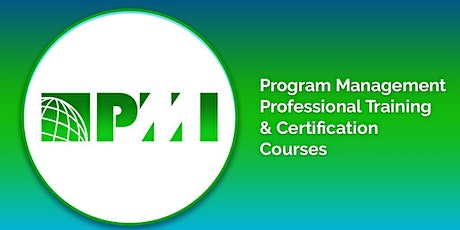 PgMP 3days classroom Training in Souris, PE tickets