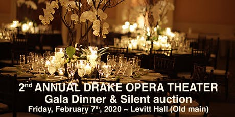 Drake Opera Theater's 2019 Gala Dinner tickets