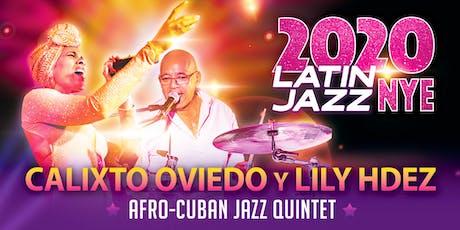 Latin Jazz NYE at Jazzville Palm Springs tickets