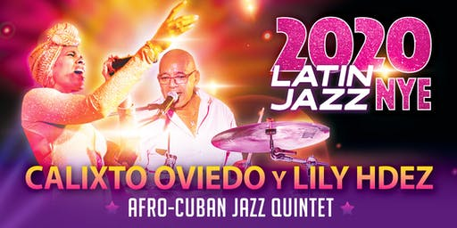 Latin Jazz New Year's Eve 2020 at Jazzville Palm Springs