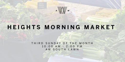 Heights Morning Market Vendor Application
