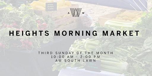Heights Morning Market Vendor Application