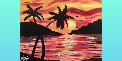 Paint N' Wine at Ocean Park Apartments!