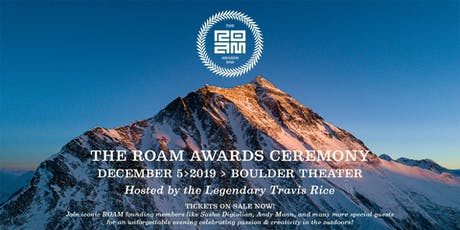 2019 ROAM AWARDS HOSTED BY TRAVIS RICE tickets