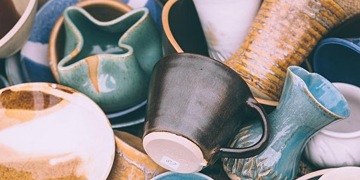 Pottery: Intro to Wheel Throwing (Sundays)