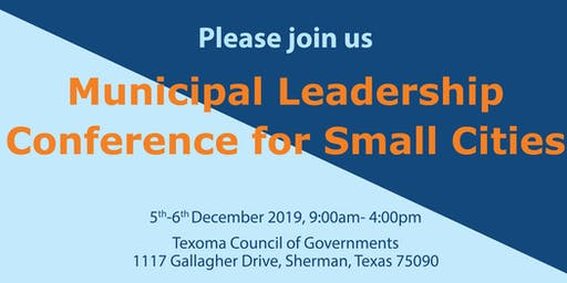 Municipal Leadership Conference for Small Cities