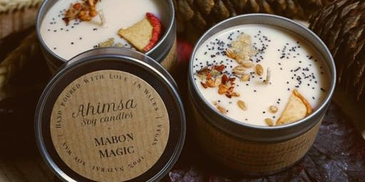 Candle Making Workshop with Ahimsa Soy Candles