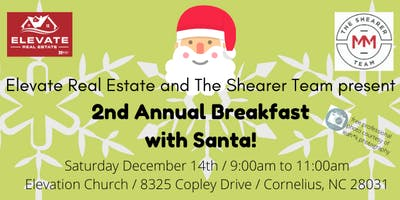 Breakfast with Santa (2nd annual client appreciation breakfast)