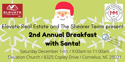 Breakfast with Santa (2nd annual client appreciation breakfast)