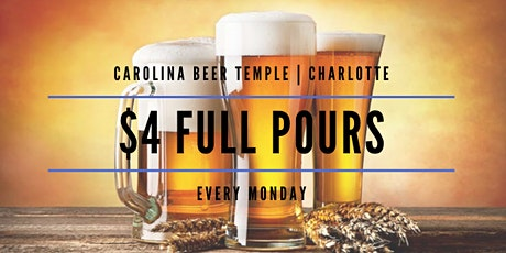 $4 Full Pour Mondays tickets