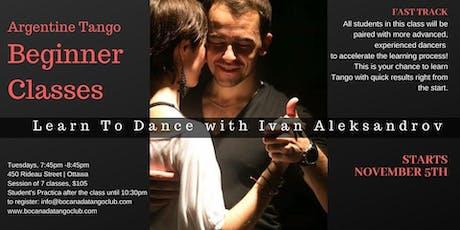 Argentine Tango Beginner Classes tickets