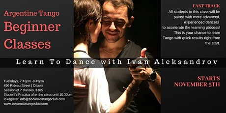 Argentine Tango Beginner Classes tickets
