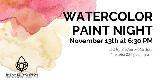 Watercolor Paint Night