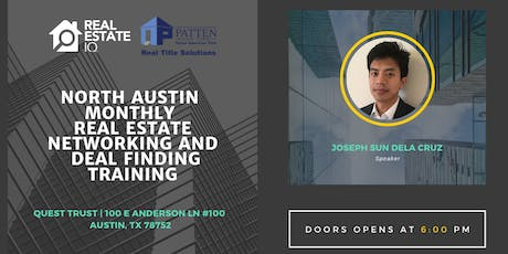 Austin - North Austin Monthly Real Estate Networking and Deal Finding Training tickets