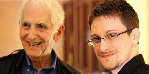 Daniel Ellsberg and Edward Snowden in Conversation