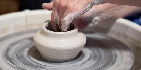 Pottery: Intro to Wheel Throwing (Thursdays) tickets