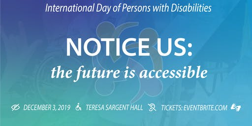 International Day of Persons with Disability Luncheon