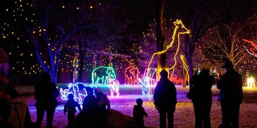 Private DENVER ZOO LIGHTS Preview Event - Hot Chocolate Pre-Party Included!