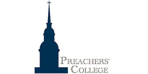 Preachers' College July 15-17, 2020