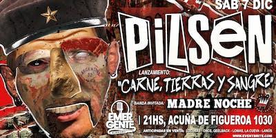 """Pilsen: lanzamiento de """"carne, tierras y sangre"""""""