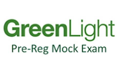 Newcastle - Green Light Pre-reg Mock Exam - Sat 30th May 2020 tickets