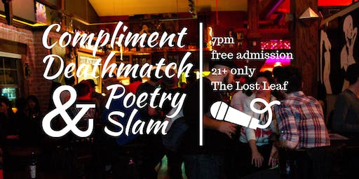 Thanksgiving Day Compliment Deathmatch + Phoenix Poetry Slam | The Lost Leaf