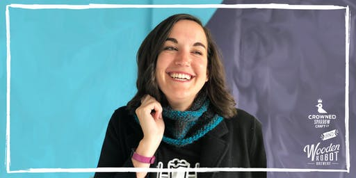Crowned Sparrow Co.: craftXcraft | Learn to Knit! Cowl Scarves