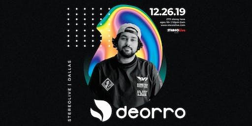 Deorro - Stereo Live Dallas