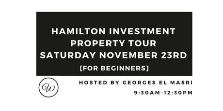 Hamilton Investment Property Tour For Beginners - November 2019 tickets