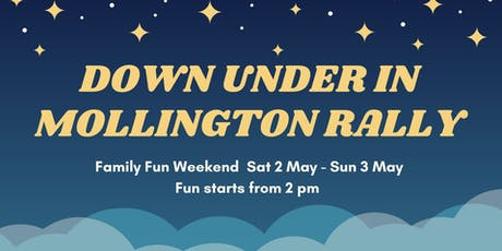 Down Under in Mollington Rally tickets