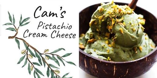 Cam's Pistachio Cream Cheese Launch Party