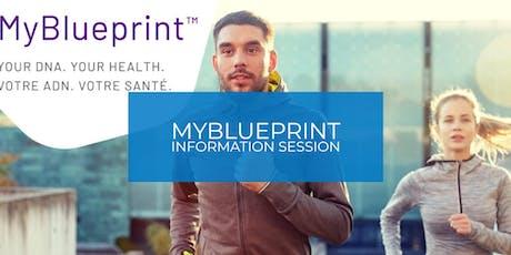 MyBlueprint: Information Session tickets