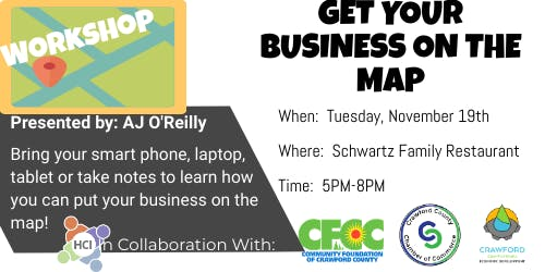 Get Your Business On the Map