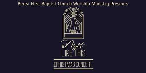 """A Night Like This"" Christmas Concert"