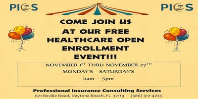 Healthcare Open Enrollment Event!!