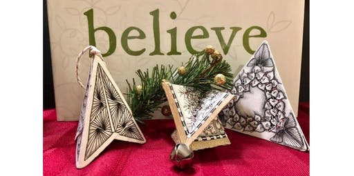 Zentangle: Tangled Bells (2019-12-08 starts at 2:00 PM)