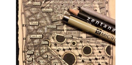 Zentangle: Found Poetry  (12-15-2019 starts at 2:00 PM) tickets