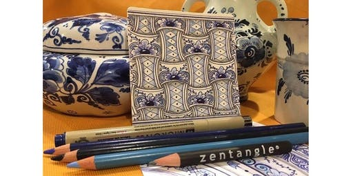 Zentangle: Delft Delights (01-26-2020 starts at 2:00 PM)