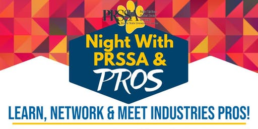 Night with PRSSA and Pros