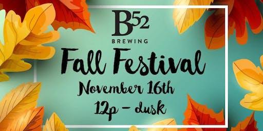 B52 Fall Festival
