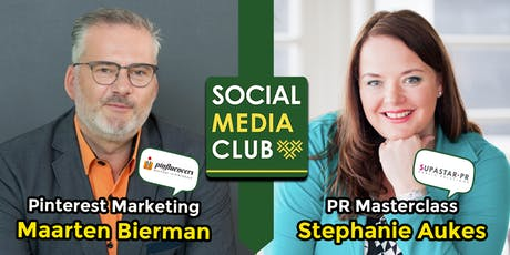 #SMC076 - 26 november 2019 - Pinterest Marketing & PR Masterclass tickets