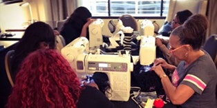 Stuart, Fl  Lace Front Wig Making Class with Sewing Machine