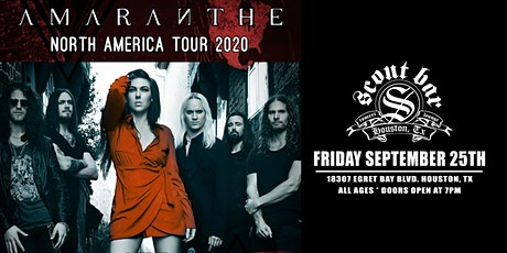AMARANTHE - SHOW HAS BEEN POSTPONED - NEW DATE COMING SOON tickets