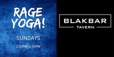 Rage Yoga at BLAKBAR - November/December 2019 tickets