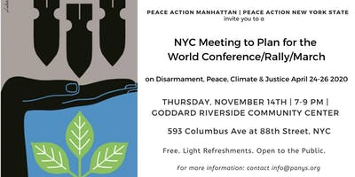 NYC Meeting to Plan for World Conference/Rally/March