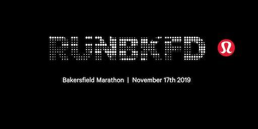 Bakersfield Marathon// lululemon Cheer Station