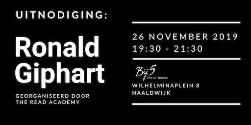 Ronald Giphart bezoekt Naaldwijk