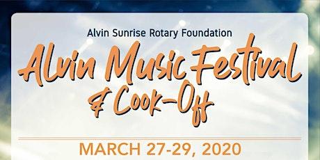 Alvin Music Festival 2020 Tickets tickets
