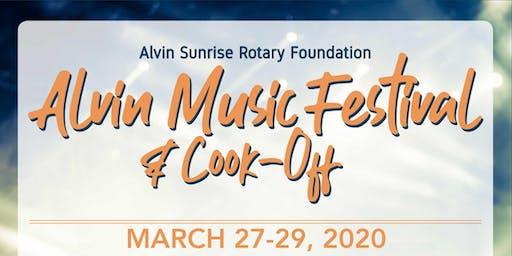 Alvin Music Festival 2020 Tickets